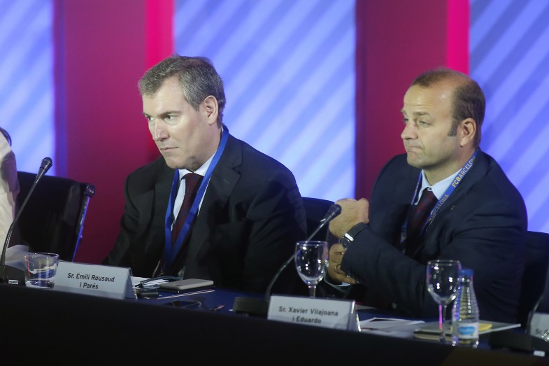 Trois hommes pour un siège dans la course à la présidence du Barça