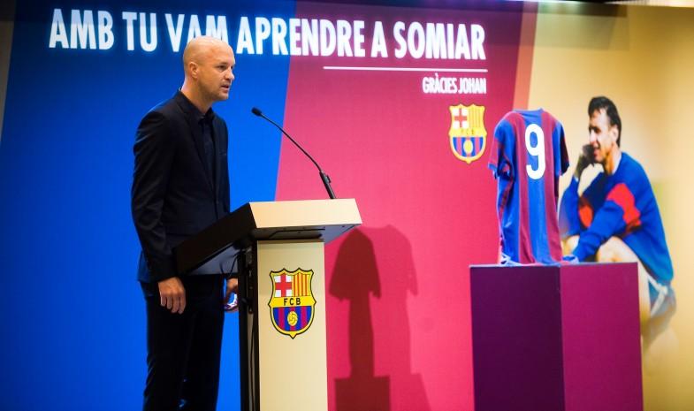 Jordi Cruyff officiellement de retour au FC Barcelone