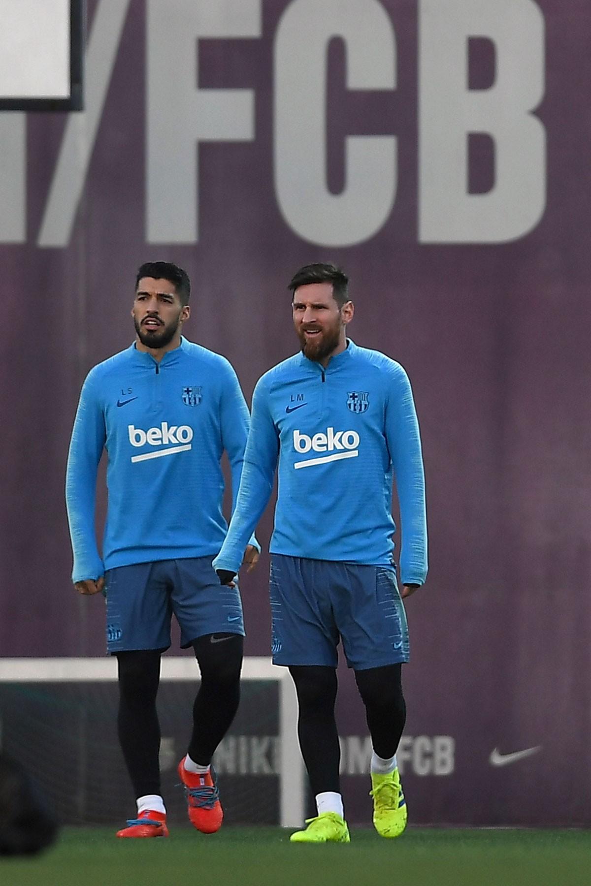 Messi a repris l'entrainement