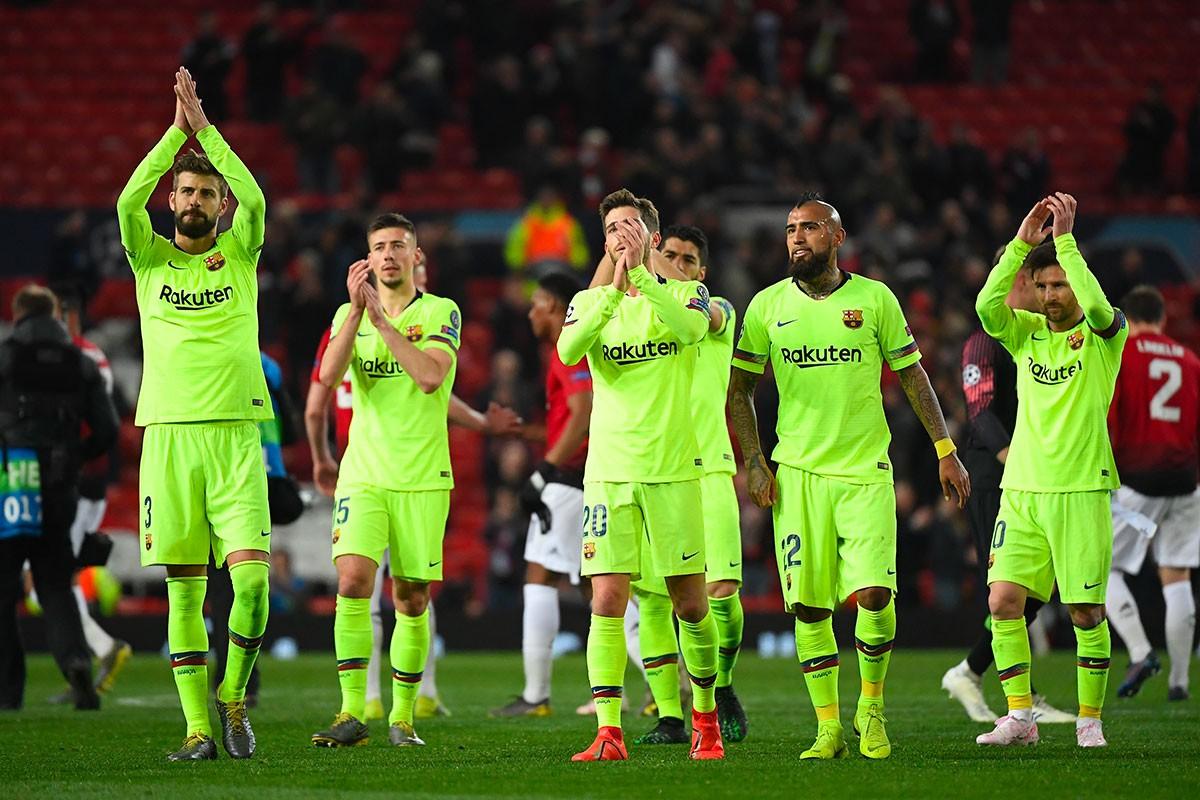 Le Barça prend une petite avance à Old Trafford ! (0-1)