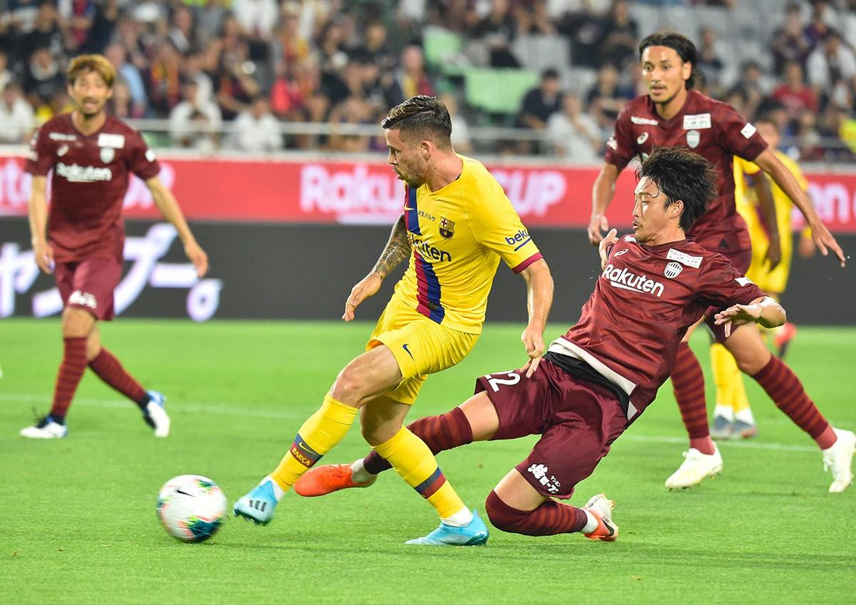 Le Barça remporte sa première victoire de la saison contre le Vissel Kobe (2-0)