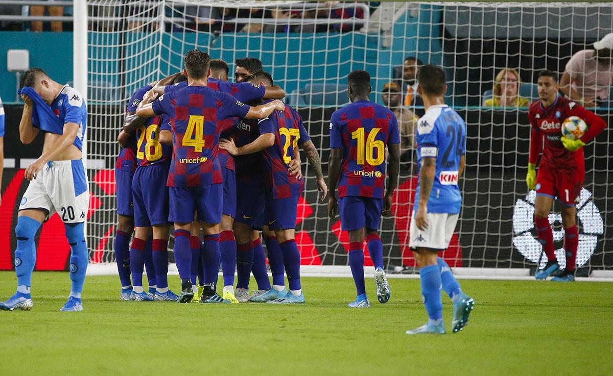 Naples - FC Barcelone : le onze probable du Barça
