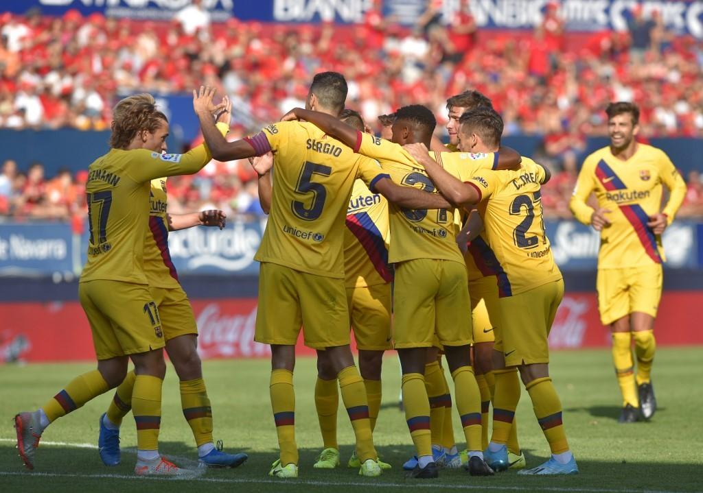 FC Grenade - FC Barcelone : le onze probable du Barça !