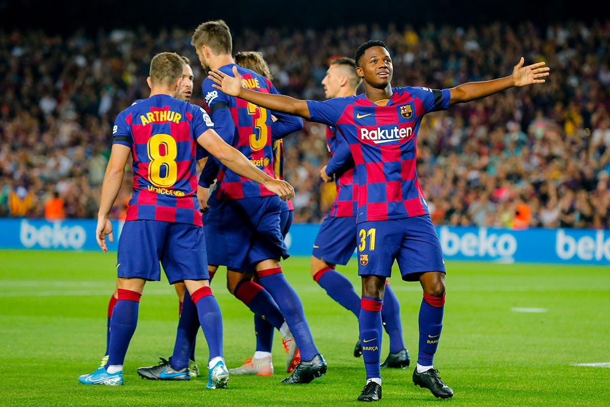 FC Barcelone - Real Valladolid : le groupe du Barça !
