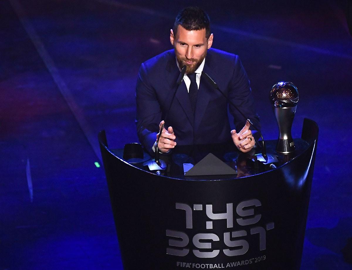 Messi remporte le trophée The Best !