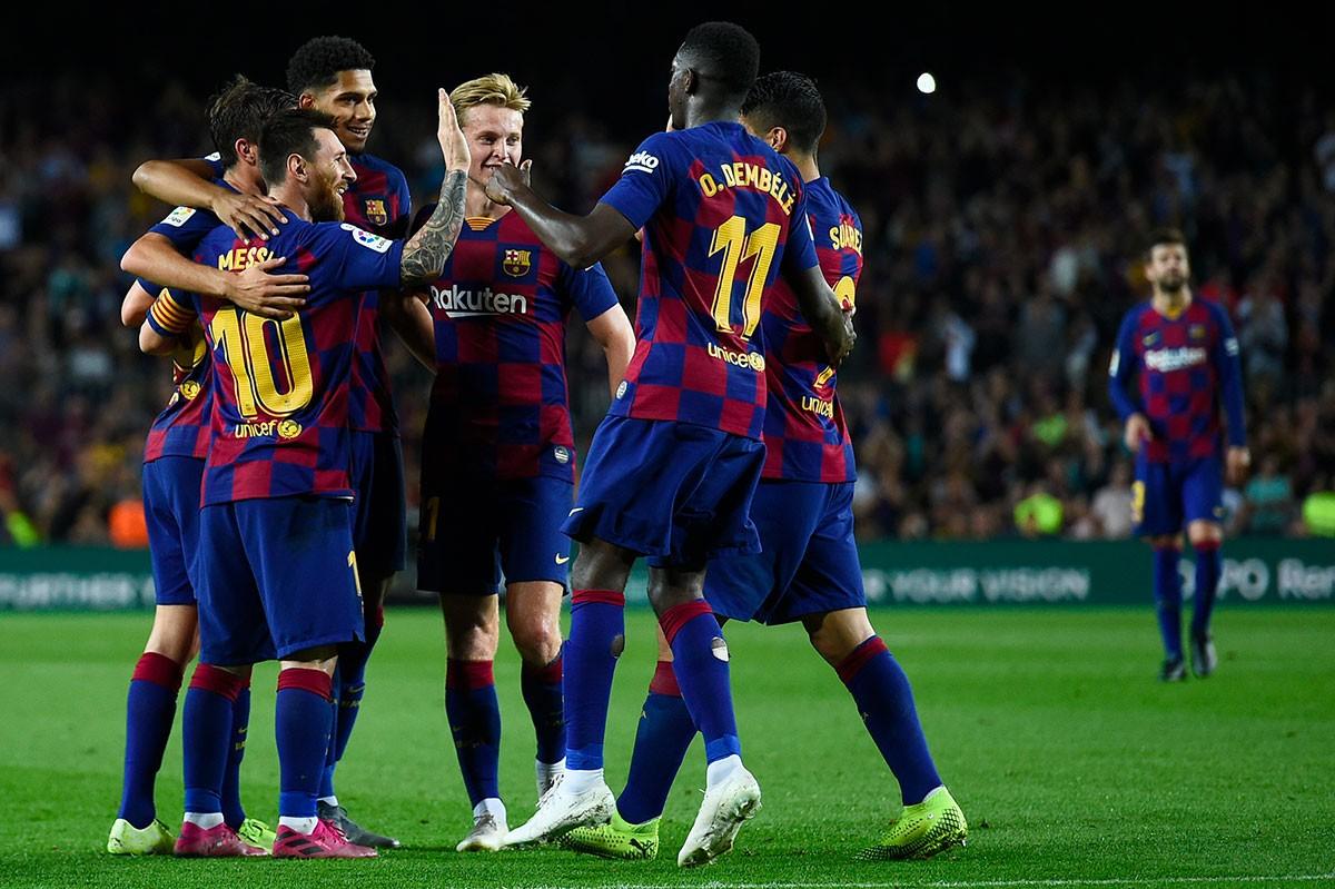 FC Barcelone - Real Madrid : Le groupe du Barça !