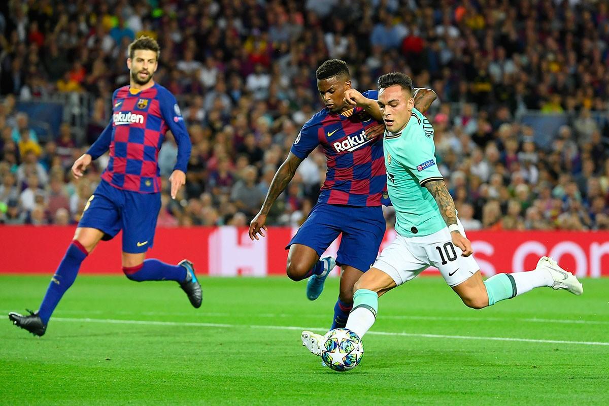 Le Barça s'impose in extremis contre l'Inter